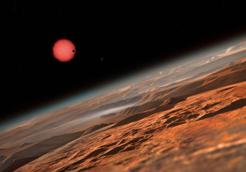 NASA Found 7 Earth Sized Planets That Could Sustain Life