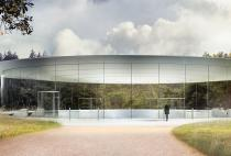 Apple's New Massive Spaceship Campus Opens in April