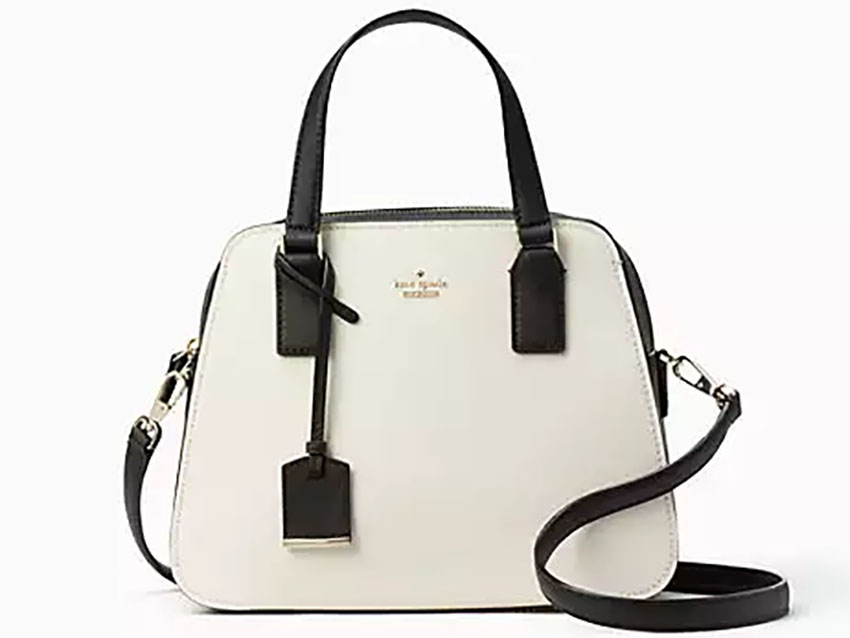 A beautiful yet practical satchel for businesswomen!