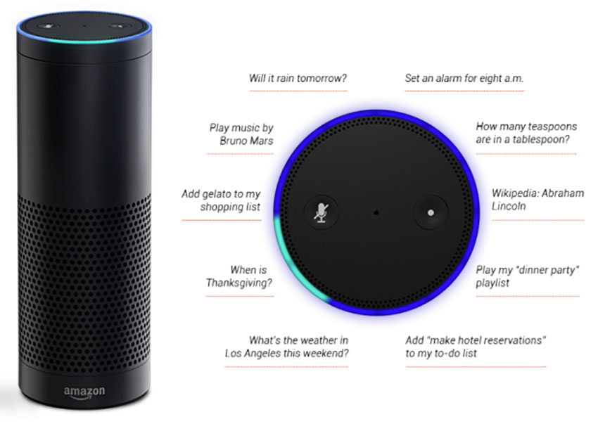 Amazon Echo is one of the most popular smart hubs available.