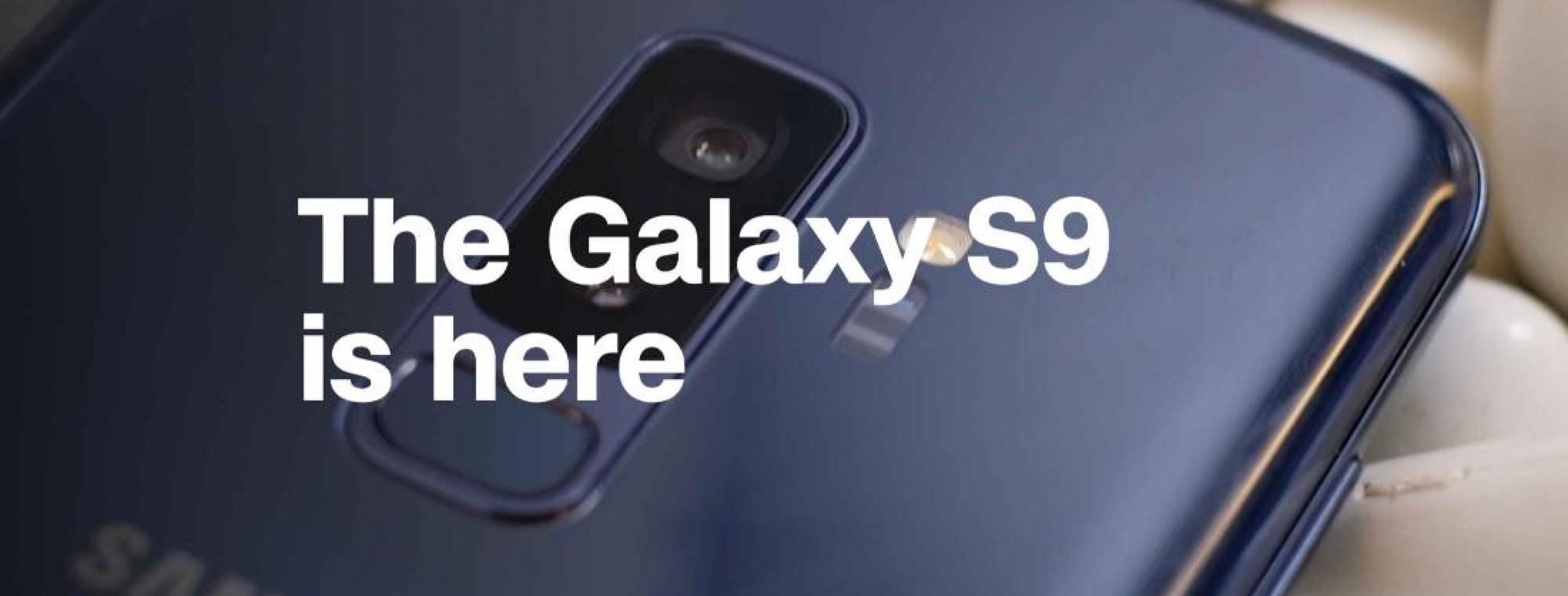 Samsung Presents Galaxy S9's Dual-Aperture Camera... And Not Much Else