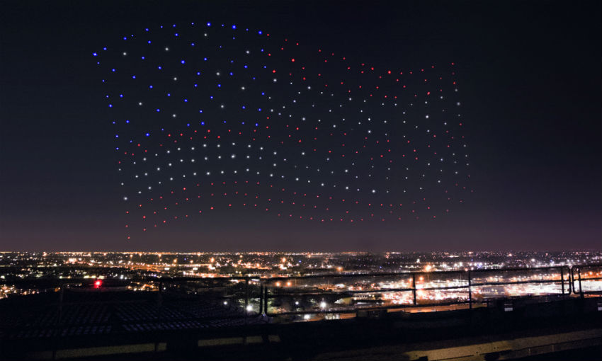 What's Behind And Ahead Lady Gaga's Drone Show